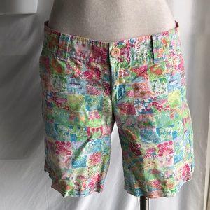 Lily Pulitzer summer shorts sz4